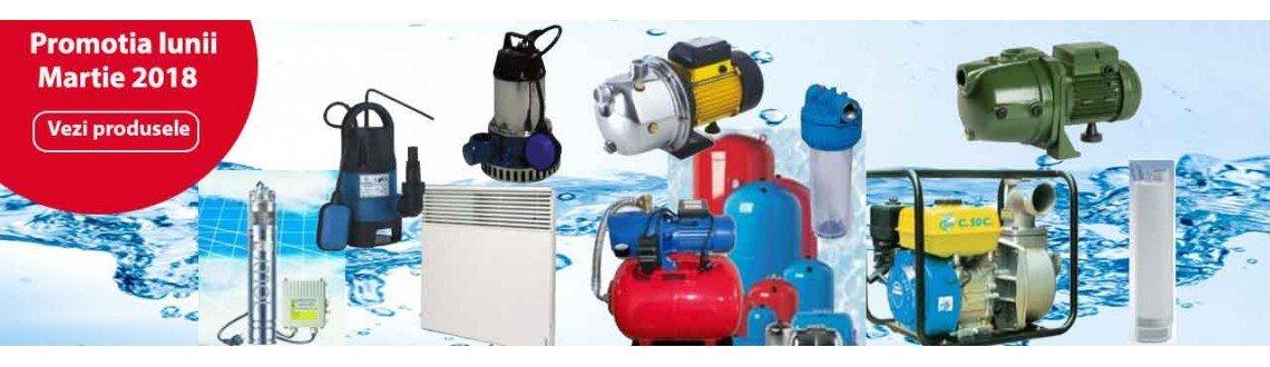 Promotie pompe,hidrofoare si accesorii